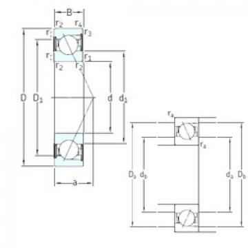 roulements SS7202 ACD/HCP4A SKF