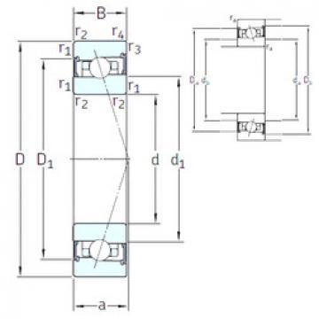 roulements HX95 /S 7CE1 SNFA