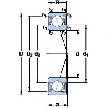 roulements S7002 ACD/HCP4A SKF
