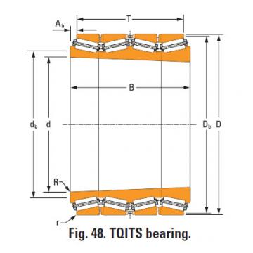Bearing lm741330T lm741314d double cup