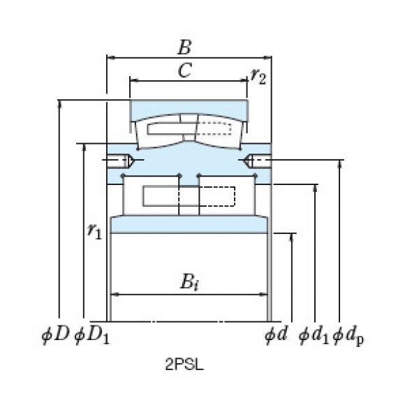 Bearing 3PL180-3 #1 image